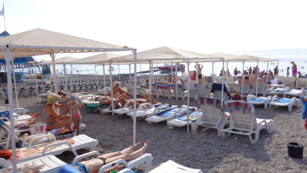 Larissa Blue Resort Kiris 4* Пляж