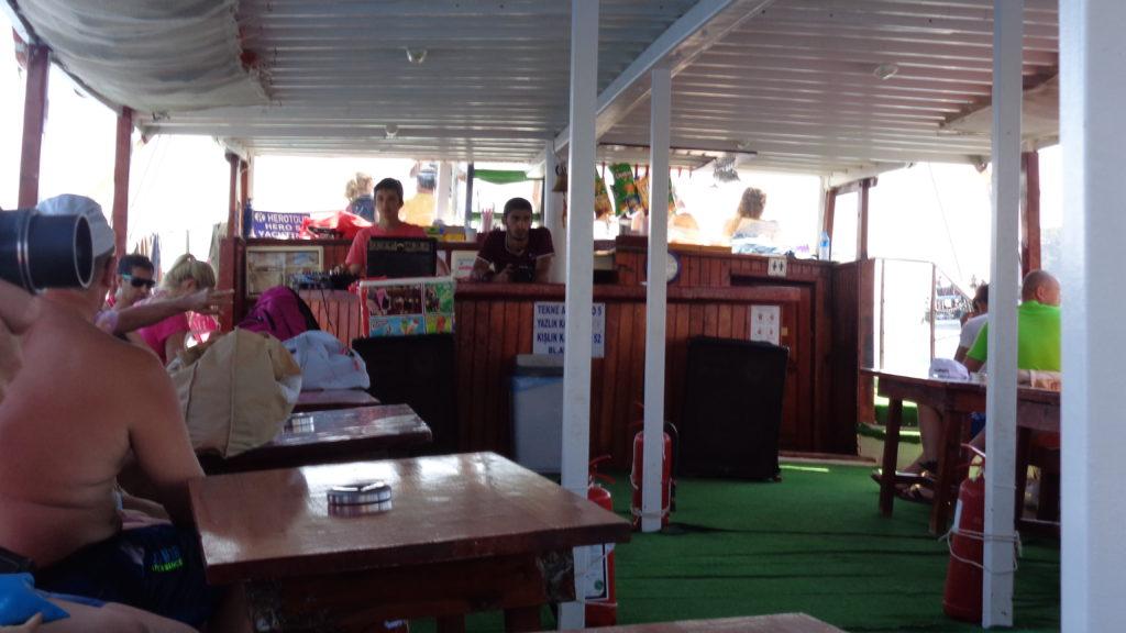 Экскурсия на яхте в Кемере