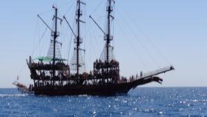 экскурсия на яхте кемер